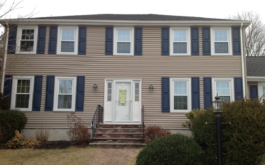 Replacement Windows And Vinyl Siding In Woburn Ma Dlm