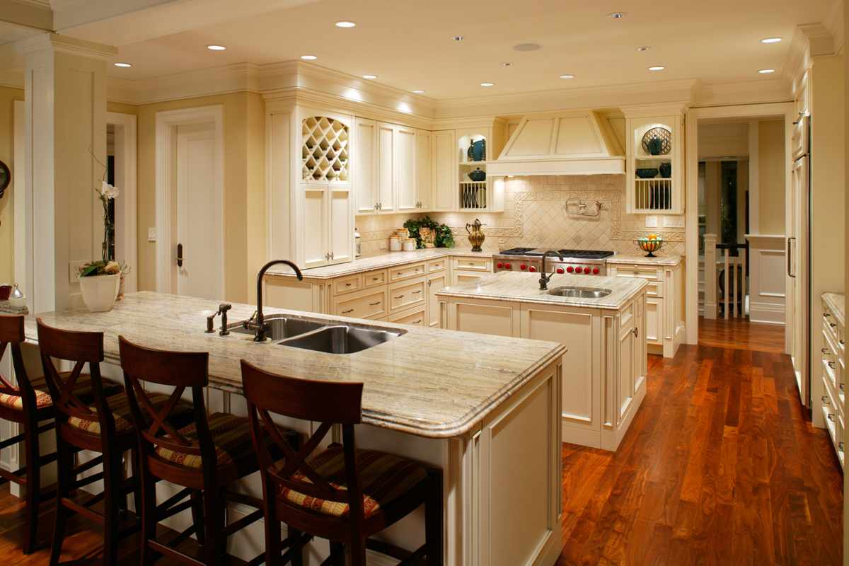 Kitchen remodeling cabinets plumbing waltham ma dlm for Photos of remodeled kitchens