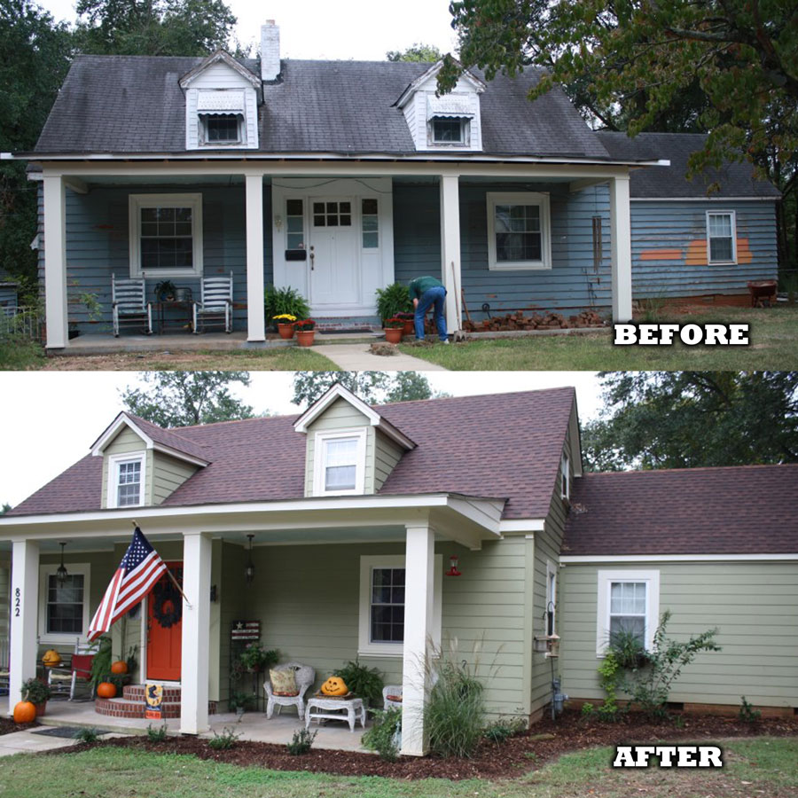 James hardie before after work dlm remodeling for James hardie