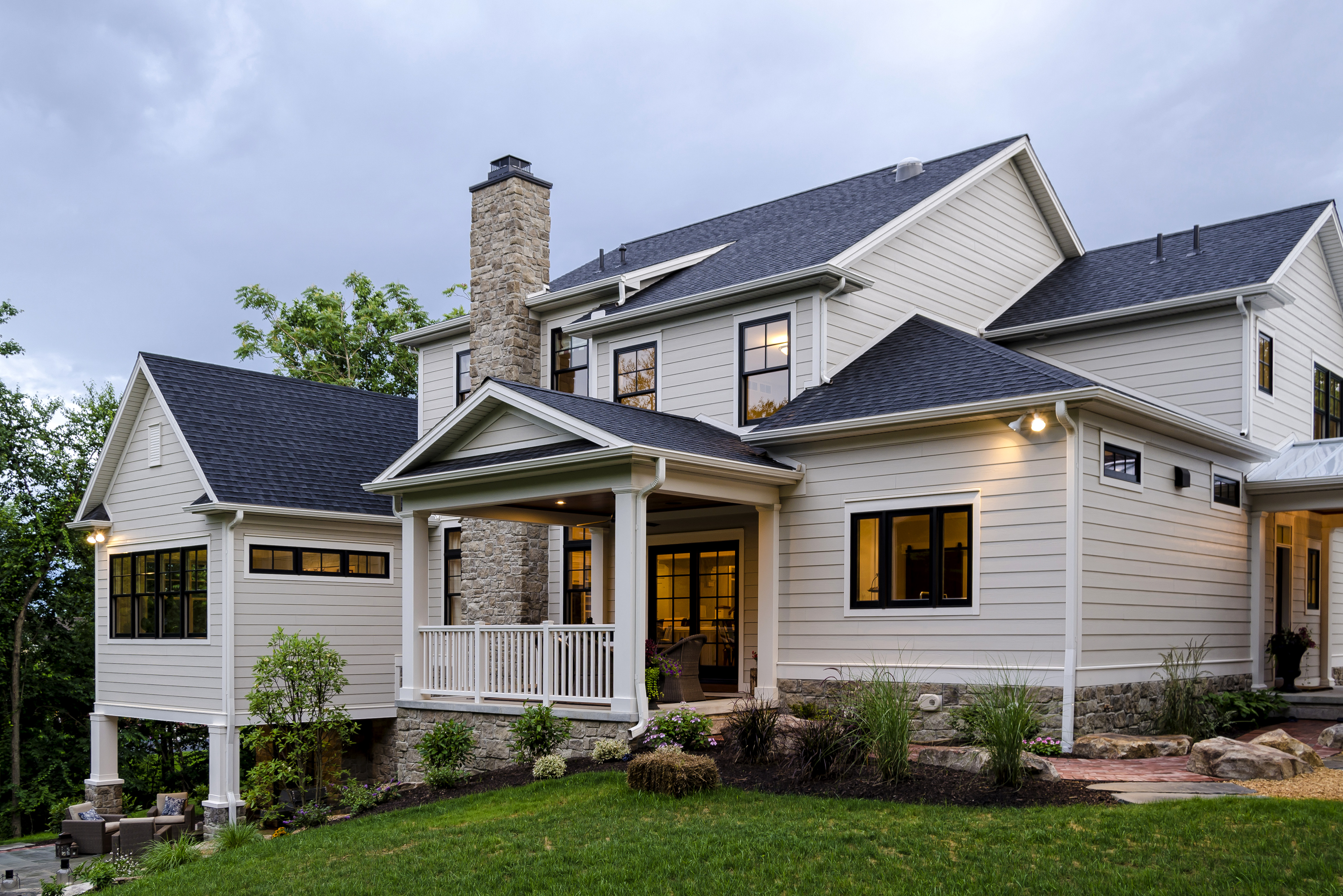 Real Hardie Homes Contest Submission HardiePlank ColorPlus East Coast HZ5 Cobble Stone