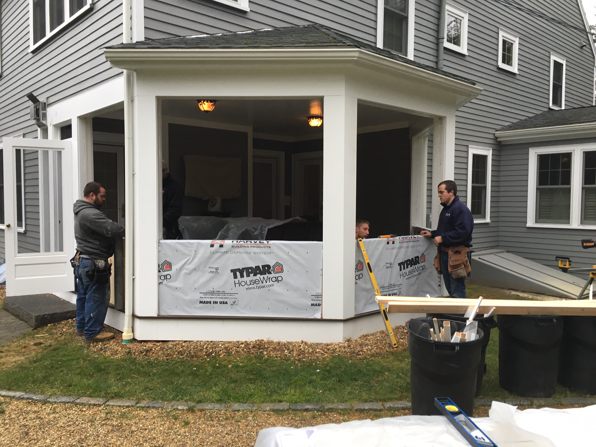 your enclose installation enclosed amazing ideas to with porch how house a patio