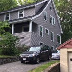 new grey vinyl siding