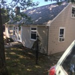 before siding